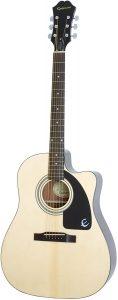 Epiphone AJ-100CE mejores guitarras acústicas